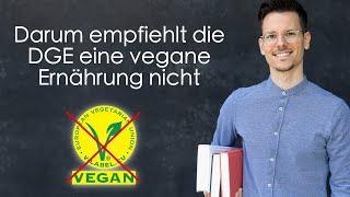 Darum empfiehlt die DGE eine vegane Ernährung nicht
