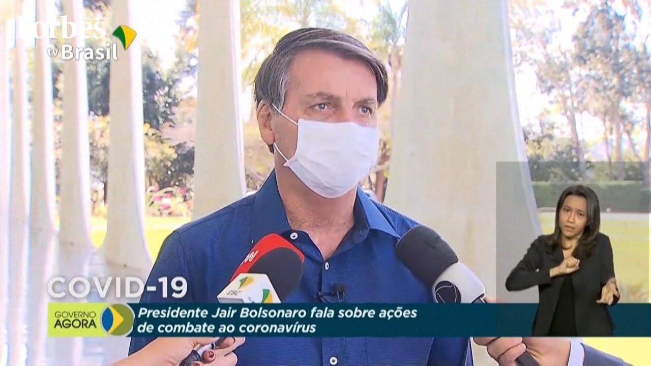 الرئيس البرازيلي جايير بولسونارو  يعلن إصابته بـ #كورونا المستجد