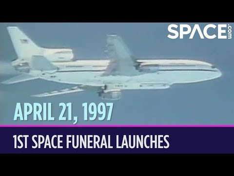 OTD in Space – April 21: 1st Space Funeral Launches on 'Founders Flight'