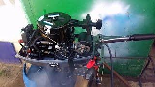 Китайский мотор Микатсу.Устранили заводские косяки.