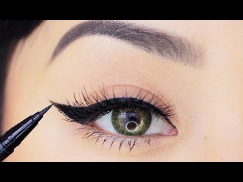 Eyeliner Makeup Tutorial For Beginners