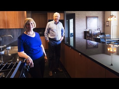 Toronto couple on why they downsized from house to condo