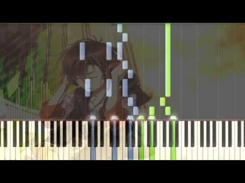 [Zetsuen no Tempest] ED2 Bokutachi no Uta Piano Synthesia Tutorial