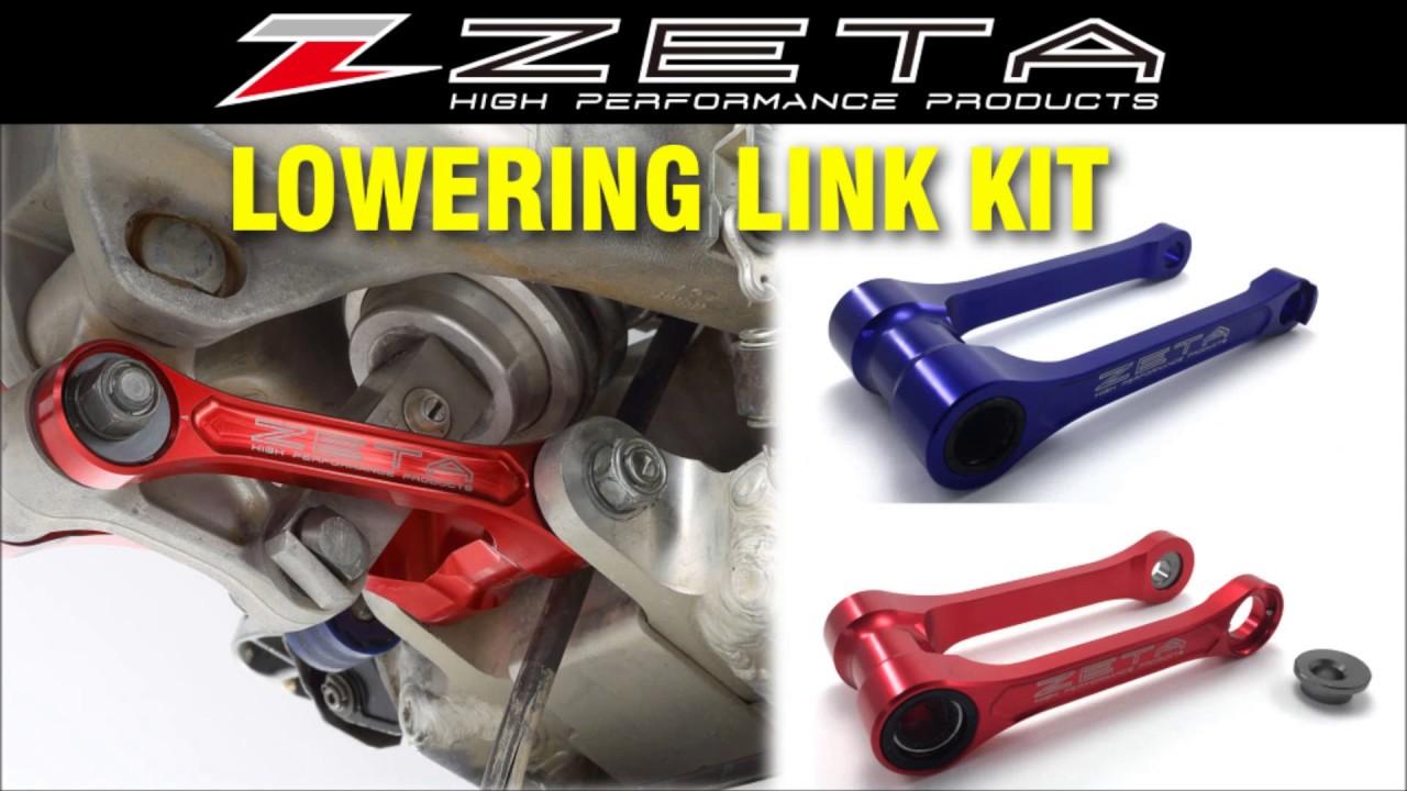 Zeta Lowering Link Kit Adjustable Lowering Link Kit