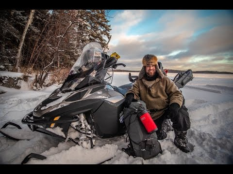 Solo Winter Survival Pack Out | Clothing, Equipment And Snowmobile Setup