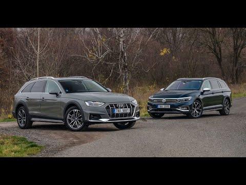 Volkswagen Passat Alltrack Vs Audi A4 Allroad