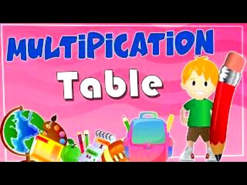 Multiplication Tables For Children 2 to 15 | Learn Tables For Kids & Beginners | Tables 2 to 15