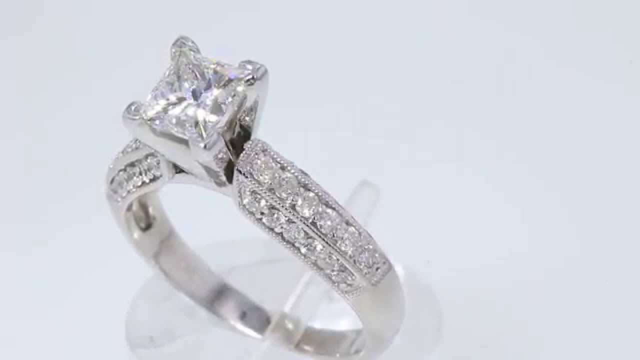 engagement zoom diamonds white round hover gold rings ct diamond leo mv zm cut kaystore tw to ring kay en