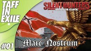 Silent Hunter 5 | Battle of the Atlantic | Mare Nostrum | Episode 01