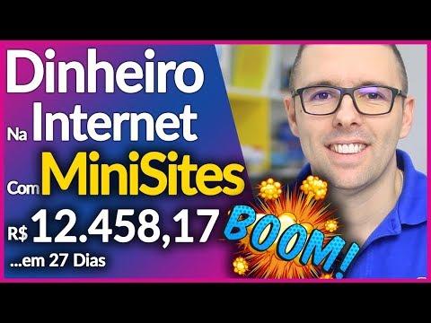 MINISITES Como Ganhar Dinheiro Na Internet Com Minisites【Passo A Passo】