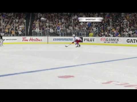 NHL gameplay New York Rangers-Los Angeles Kings #1