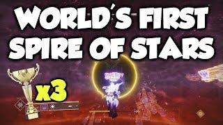 WORLD'S FIRST SPIRE OF STARS RAID! [Destiny 2 Warmind DLC] Val Ca'uor Final Boss