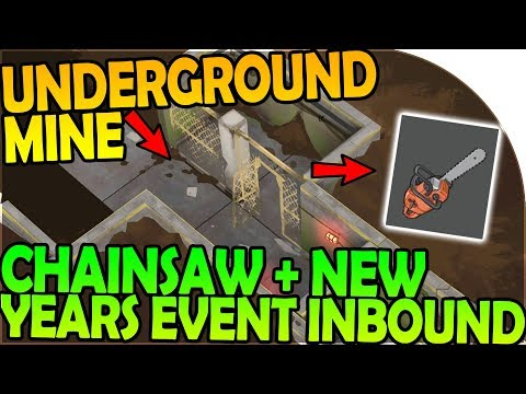 NEW UNDERGROUND MINE + CHAINSAW + NEW YEARS EVENT INBOUND - Last Day On Earth Survival 1.6.9 Update