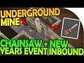 NEW UNDERGROUND MINE + CHAINSAW + NEW YEARS EVENT INBOUND - Last Day On Earth Survival 1.6.9 Update