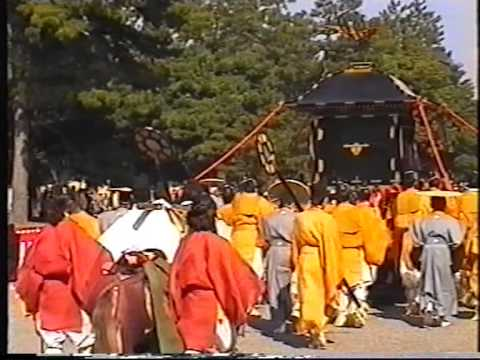 Kyoto @1996 Part 2 - Performances, B&B, 13 Century Festival