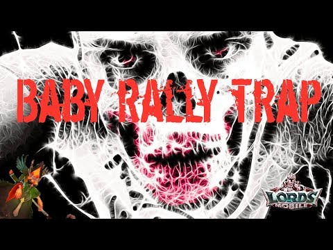 Lords Mobile - Baby Rally Trap Eat Multiple Rallys