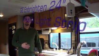 """GE Enbrighten 24"""" LED Linkable Light Strip Install Review"""