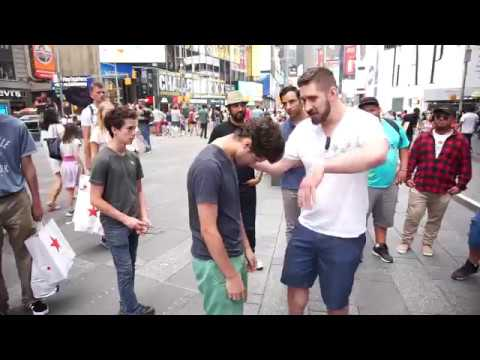 Street Hypnosis Time Square
