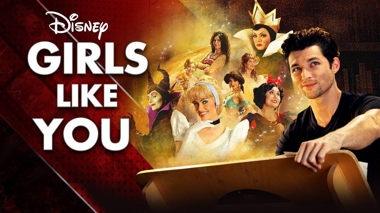「Disney Girls Like You 如你一般的迪士尼女孩」迪士尼經典女性角色群像