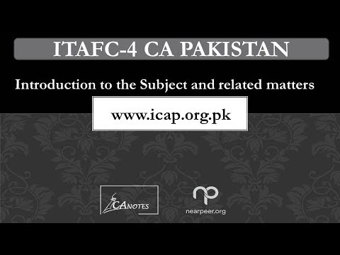Introduction to the Subject IT AFC 4 video 1 www icap org pk, Computer Based Paper Demonstration