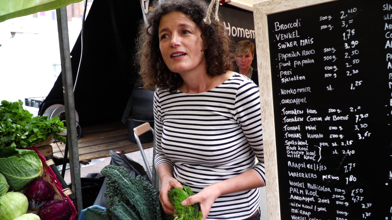 Haarlem, Netherlands weekly outdoor food market