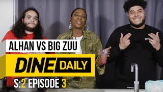Alhan vs Big Zuu - Dine Daily [S2:E3] | GRM Daily