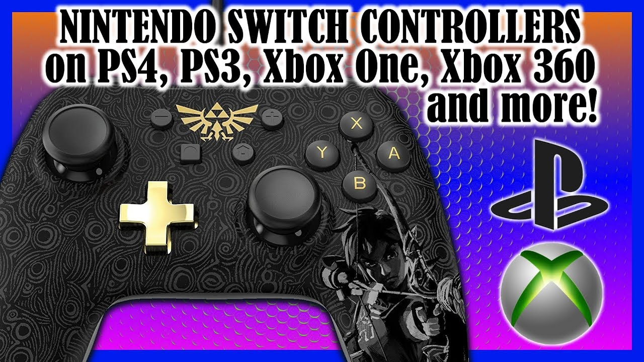 How-to use wired Nintendo Switch controllers on Playstation and Xbox ...