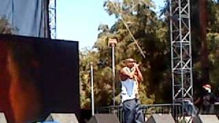 Slick Rick - Teenage Love Remix @ Rock the Bells 2010 LA