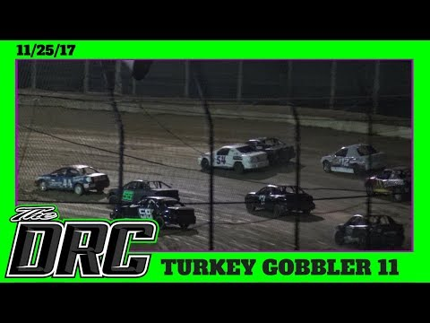 Moler Raceway Park | 11/25/17 | Turkey Gobbler | Crazy Compacts | Heat 1