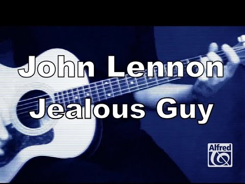 "How to Play ""Jealous Guy"" by John Lennon on Guitar - Lesson Excerpt"