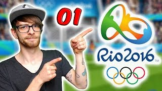 Olympische Spiele Rio 2016 Offizielle App ⚽ Fussball ⚽  Pandido Gaming