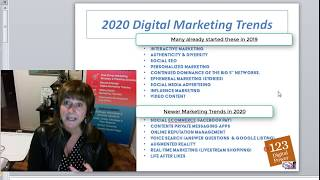 2020 Marketing Strategy & Action Plans PLUS 2020's Marketing Trends!