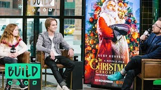 "Darby Camp & Judah Lewis Discuss Netflix's ""The Christmas Chronicles"""