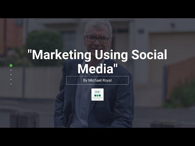 Marketing Using Social Media | BIR Solutions