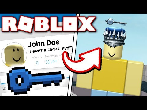 JOHN DOE FINDS THE CRYSTAL KEY!! (Roblox Ready Player One Event)