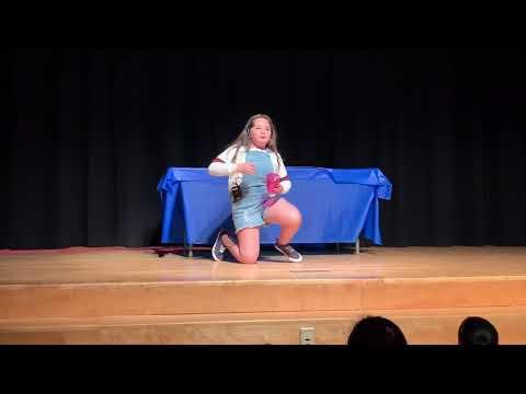 Zoe Dvorin Cups Song Anna Kendrick - Weston Intermediate School - Talent Show 2019