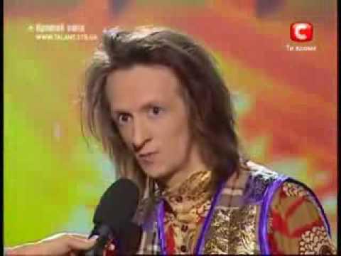 Видео: Сумасшедший балалаечник и аккордеонист на шоу Украина мае талант