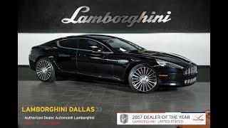 2012 Aston Martin Rapide Carbon Black L0986 Youtube