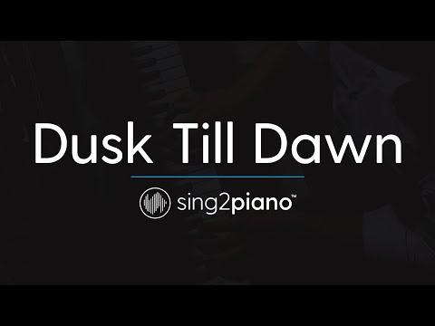 Dusk Till Dawn [Piano Karaoke Instrumental] ZAYN & Sia