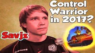 Savjz Brings Back Control Warrior