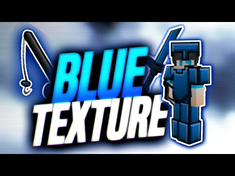 BLUE TEXTURE PACK PVP FOR MCPE !! 128x128 BEST!! WAJIB DOWNLOAD | Minecraft Pe Indonesia