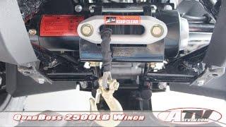 ATV Television Product Review – QuadBoss 2500LB Winch