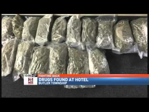 Housekeeper Leads Police to Big Drug Bust in Hotel Room - YouTube