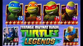 Черепашки ниндзя Легенды TMNT Legends #45 Мульт игра для детей #Мобильные игры
