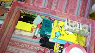 Коробка для личного дневника (самые важные вещи?(В этой коробке лежит самая маленькая часть моих вещей для лд. И она находится у бабушки. Я к ней приезжаю..., 2014-05-30T07:10:01.000Z)