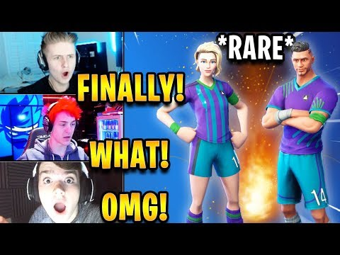 Streamers React to *RARE* Soccer Skins *BACK* in the Item Shop! | Fortnite Highlights
