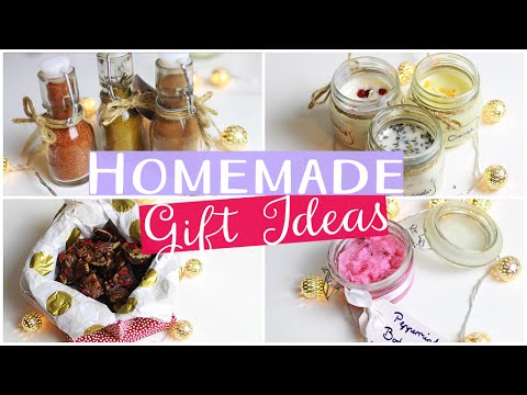 diy gift ideas homemade natural healthy christmas presents