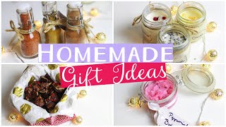 Natural, healthy & homemade gift ideas!! these diy christmas presents are really easy and so much fun to make! they made from all good ingredients wi...