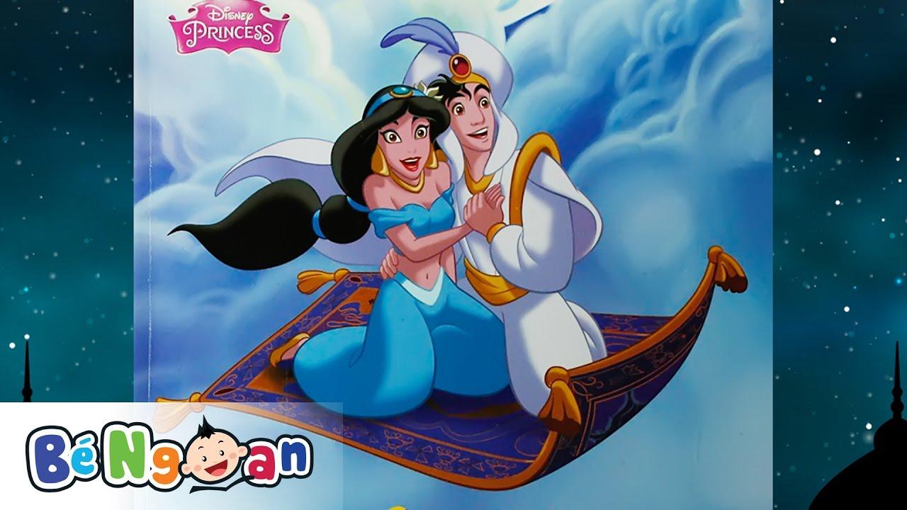 Truyện Aladdin Và Cây Đèn Thần ~ Truyện Đồng Hành Với Phim Hoạt Hình