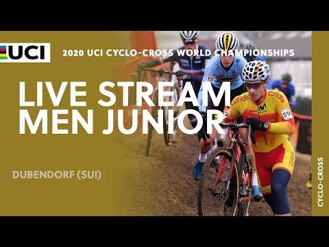 Live – Men Junior | 2020 UCI Cyclo-cross World Championships, Dubendorf (SUI)